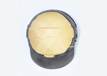 Intérieur casque de pompier (tissu surmoulé)